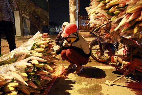 Chợ ly đêm làng Tây Tựu tấp nập ngày cuối năm-18