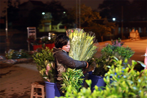 Chợ ly đêm làng Tây Tựu tấp nập ngày cuối năm-10