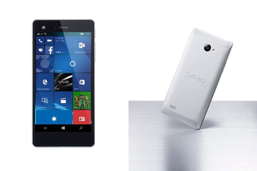 vaio ra mat smartphone phone biz chay windows 10 - 2