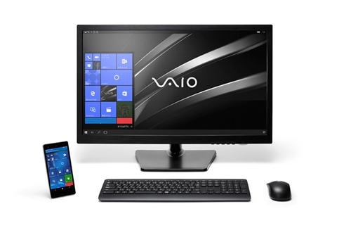 vaio ra mat smartphone phone biz chay windows 10 - 7