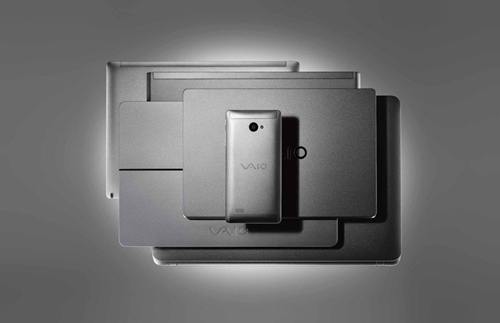 vaio ra mat smartphone phone biz chay windows 10 - 8