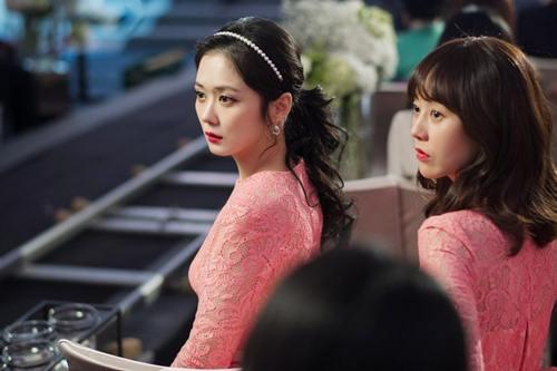 nhan sac long lay lan at co dau cua jang nara trong phim - 1