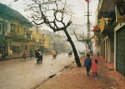 "ky uc tet ve mot ha noi ""song cham"" - 1"