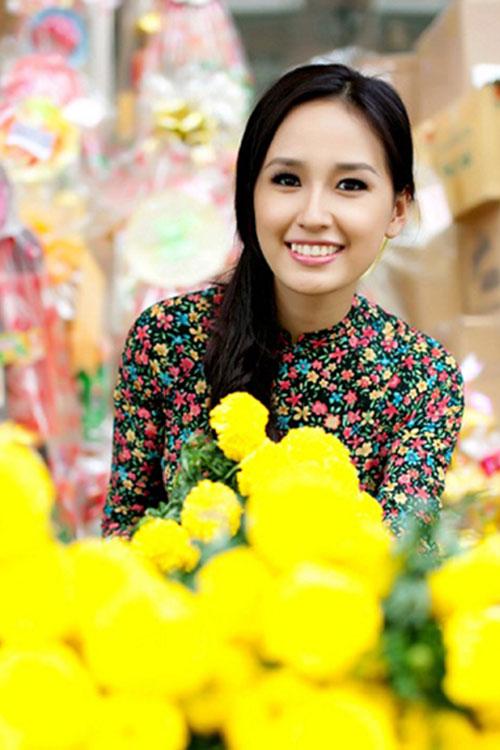 Sao Việt xinh đẹp rạng ngời đón Tết Bính Thân 2016-7