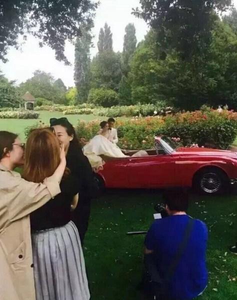 Lưu Thi Thi lộ diện sau buổi chụp ảnh cưới-5