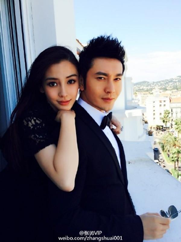 Vợ chồng Huỳnh Hiểu Minh - Angelababy vội vã về quê đón Tết-3