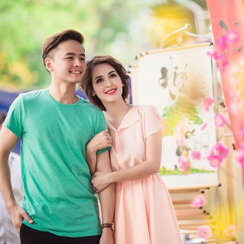Sao Việt xinh đẹp trong ngày đầu năm mới 2016-2