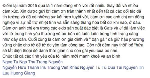 Hồ Hoài Anh hứa không làm việc dịp Tết để chơi với con gái-9