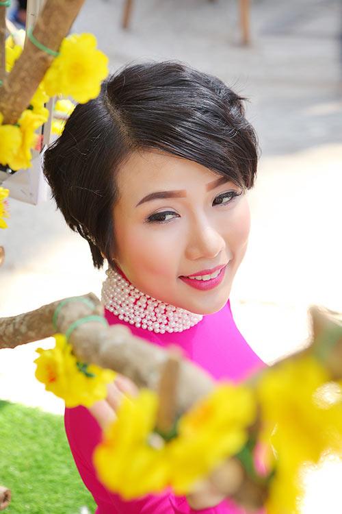 """""""me don than"""" thuy duong rang ro du xuan cung con gai - 6"""