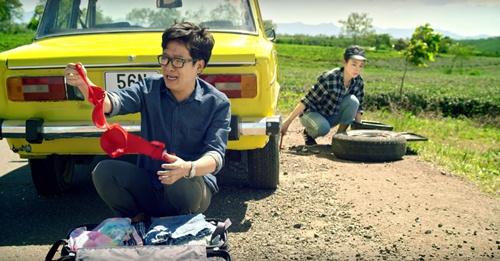 """truong giang """"say"""" phuong trinh du yeu nguoi khac trong phim moi - 1"""
