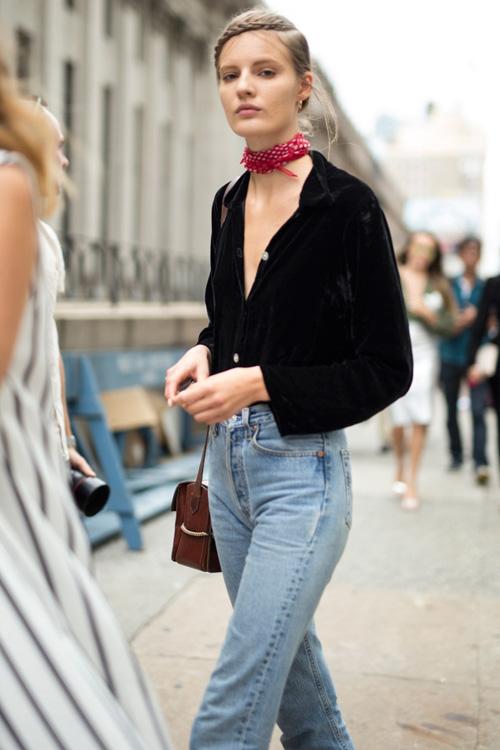 tiet lo nhung kieu quan jeans duoc long phai dep nhat - 7