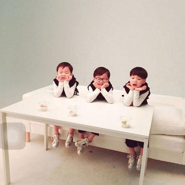 song il gook lan dau khoe anh cap sinh 3 gay sot - 5