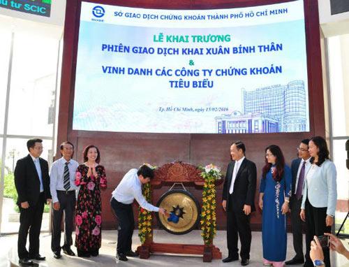 thi truong chung khoan tang truong 17% nam 2015 - 1