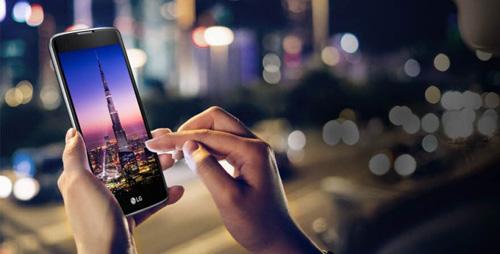 smartphone k8 man hinh 5 inch gia re cua lg chinh thuc ra mat - 1