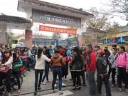 Tin trong nước - Huế: Nữ sinh bị đánh hội đồng trước cổng trường