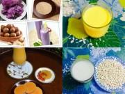 Làm mẹ - Mẹ Việt chia sẻ kho công thức hàng chục món sữa hạt ngon bổ