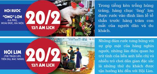 [infographic] 11 le hoi doc la o mien bac khong nen bo qua - 4