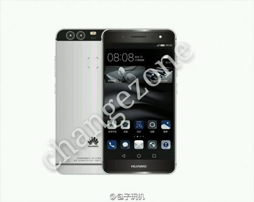 smartphone cao cap p9 cua huawei lan dau lo anh chinh thuc - 2