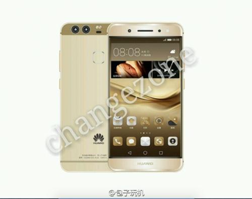 smartphone cao cap p9 cua huawei lan dau lo anh chinh thuc - 5