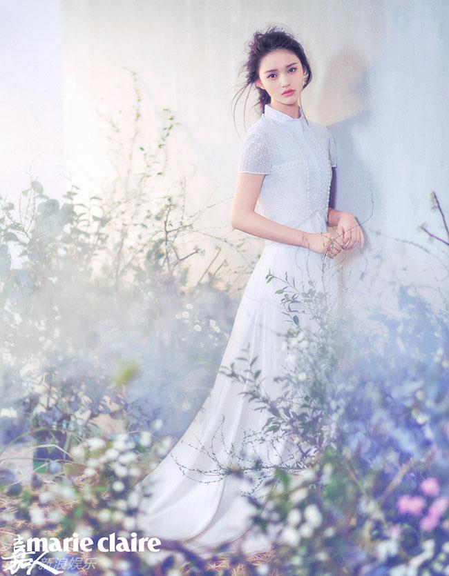 Người đẹp 19 tuổi - Lâm Doãn đã vụt sáng sau khi thể hiện vai nữ chính trong phim Mỹ nhân ngư - tác phẩm mới nhất của Châu Tinh Trì.