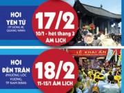 Tin tức - [Infographic] 11 lễ hội độc lạ ở miền Bắc không nên bỏ qua