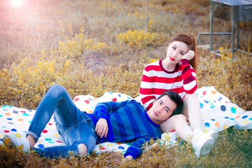 bao thy khoe hinh anh dam chat ngon tinh ben vo canh - 1