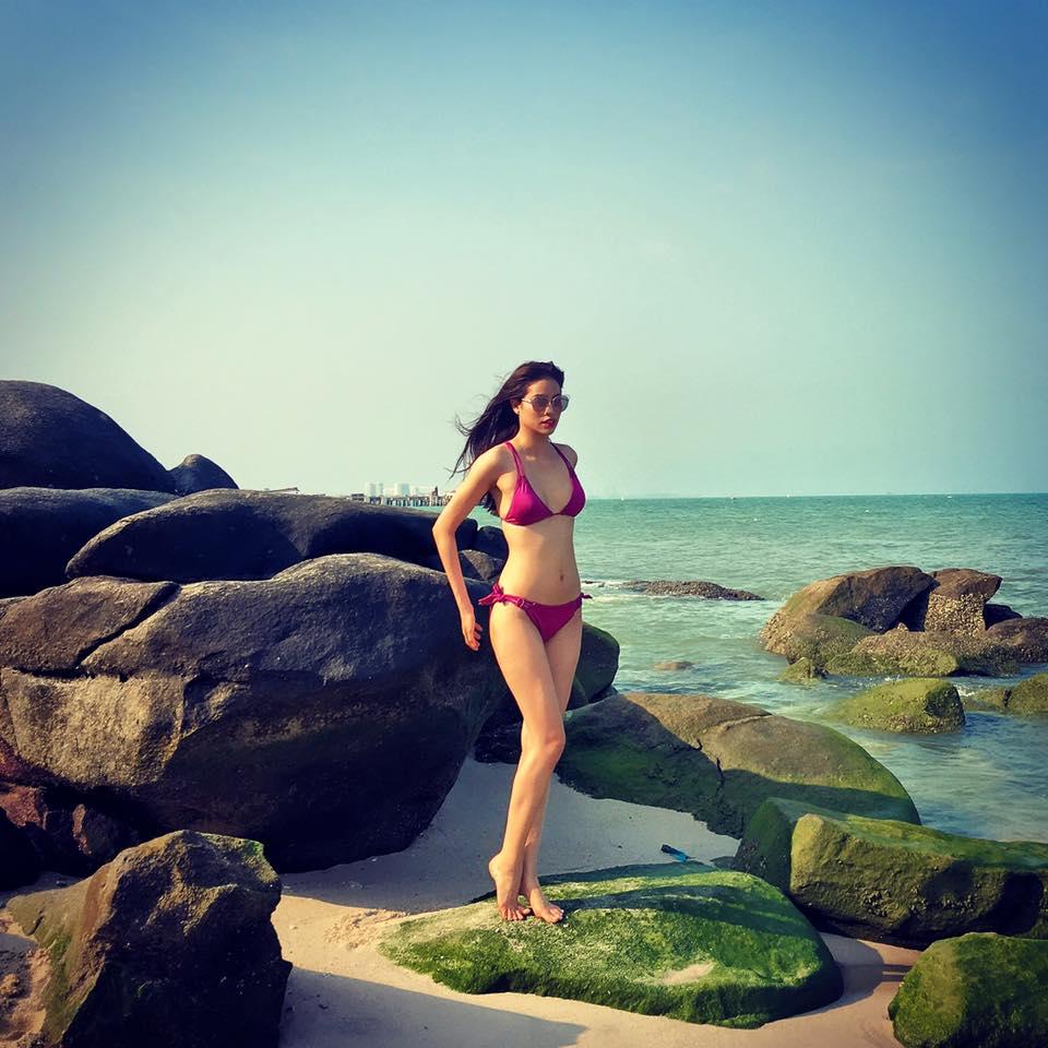 nhung tam hinh bikini don tim may rau cua pham huong - 2