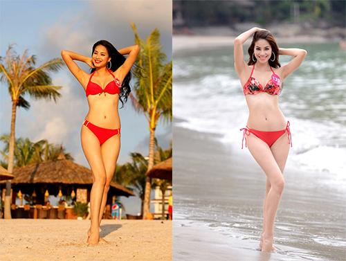 nhung tam hinh bikini don tim may rau cua pham huong - 12