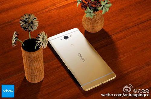smartphone ram 6 gb, man hinh cong 2 canh cua vivo lo anh - 4