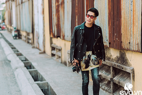 stylist travis nguyen bat mi bi quyet mac quan jeans - 13