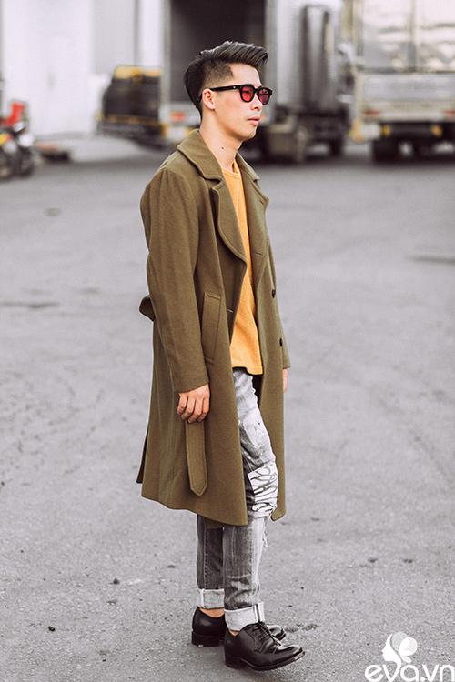 stylist travis nguyen bat mi bi quyet mac quan jeans - 10