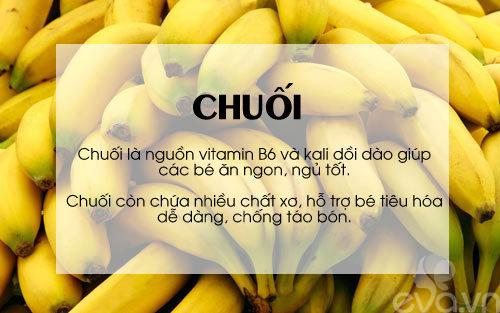 'thuc pham vang' cho be can tang can, chong lon - 2