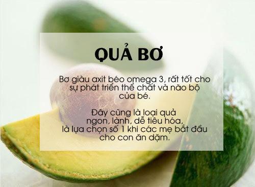 'thuc pham vang' cho be can tang can, chong lon - 6