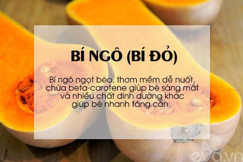 'thuc pham vang' cho be can tang can, chong lon - 5