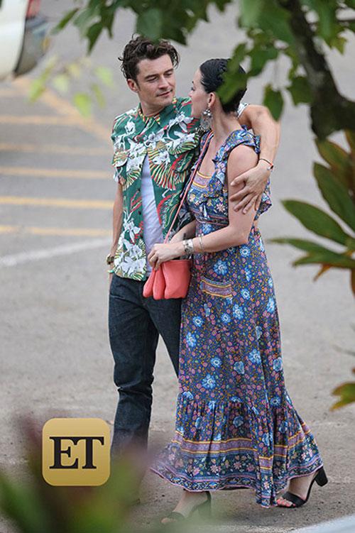 katy perry va orlando bloom cong khai hen ho tai hawaii - 5