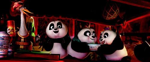 """kungfu panda 3"": khi gau po tro lai va con loi hai hon xua - 2"