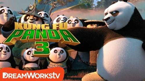 """kungfu panda 3"": khi gau po tro lai va con loi hai hon xua - 1"