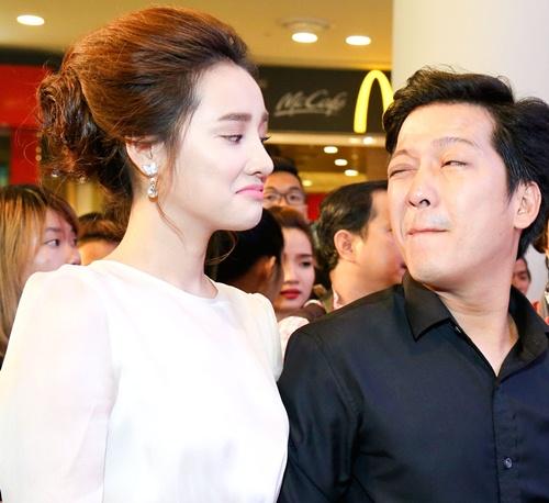 "truong giang nam chat tay nha phuong gay ""nao loan"" tham do - 3"