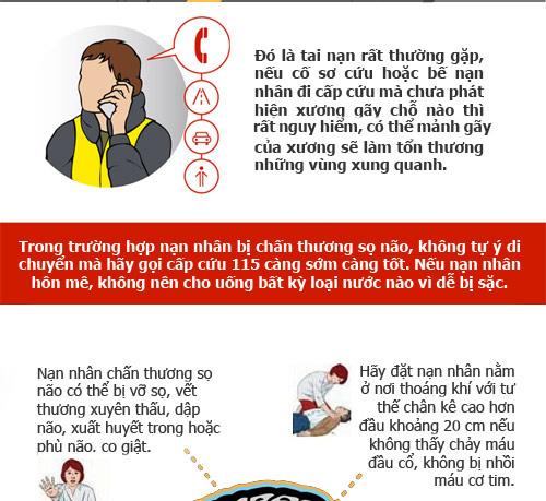 infographic: so cuu nguoi bi tai nan giao thong dung cach - 3