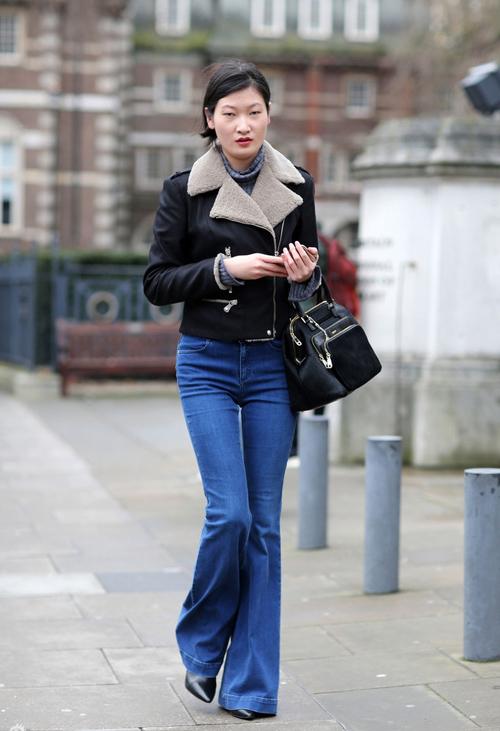cach mac jeans cuc chat cho phai dep xu lanh - 16