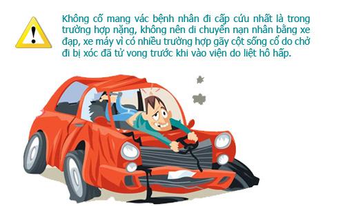 infographic: so cuu nguoi bi tai nan giao thong dung cach - 5