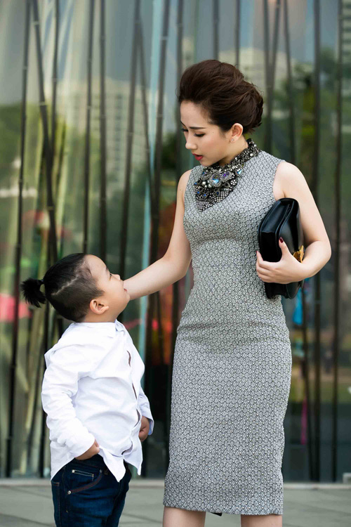 tin do thoi trang viet khoe con trong anh street style - 9