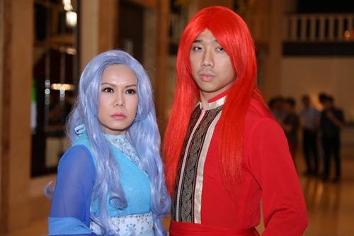 """tran thanh, viet huong tham gia show toan cac """"di nhan"""" - 1"""