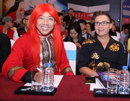 """tran thanh, viet huong tham gia show toan cac """"di nhan"""" - 5"""