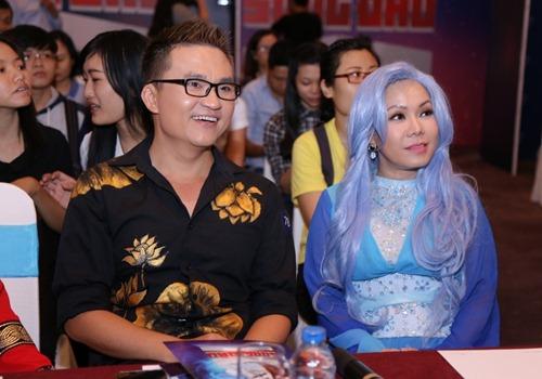 """tran thanh, viet huong tham gia show toan cac """"di nhan"""" - 4"""