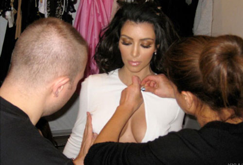 kim kardashian nang nguc trong 1 phut bang... bang dinh - 2