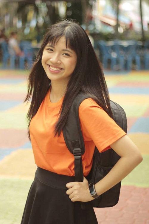 'hot girl ong nghiem' xinh dep gay sot duong len dinh olympia - 5