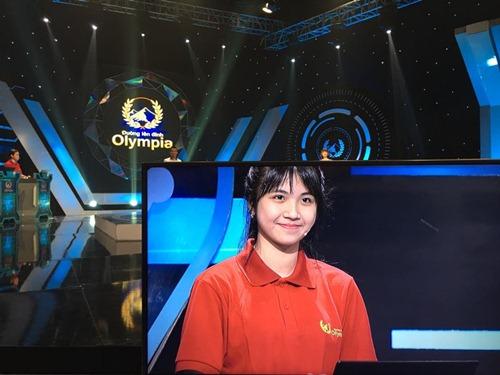 'hot girl ong nghiem' xinh dep gay sot duong len dinh olympia - 1