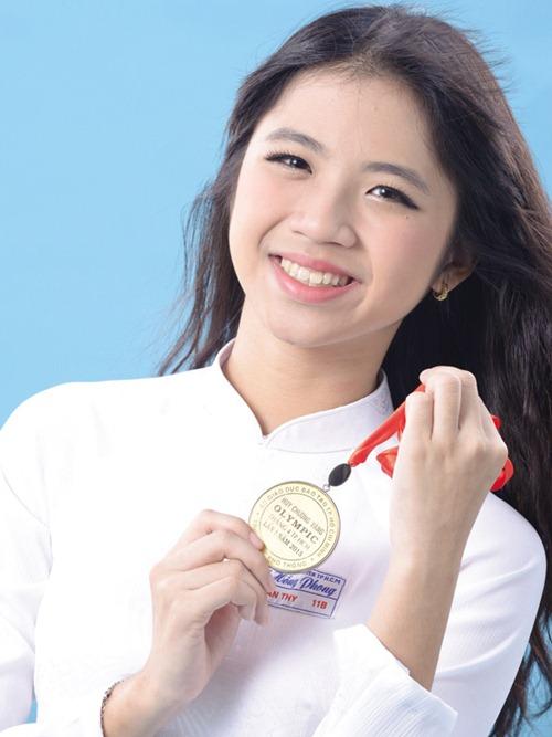 'hot girl ong nghiem' xinh dep gay sot duong len dinh olympia - 2