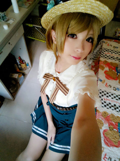 loat anh thay giao cosplay thanh nu sinh gay 'soc' - 4